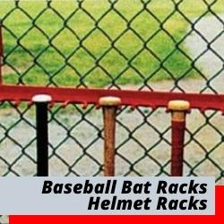 Bat Racks & Helmet Racks For Dugouts