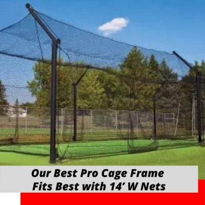 Best Pro Cantilever Batting Cage Frame