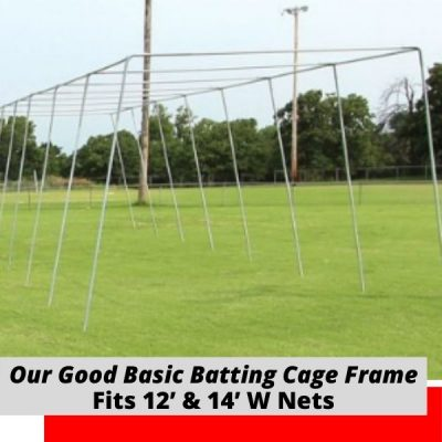 Good Basic Batting Cage Frame