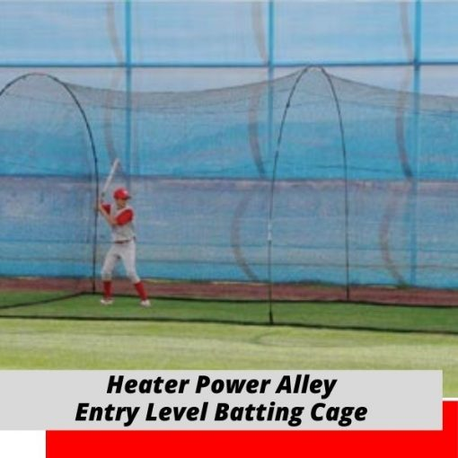 Heater Power Alley Batting Cage