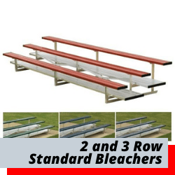 2 Row Bleachers 3 Row Bleachers