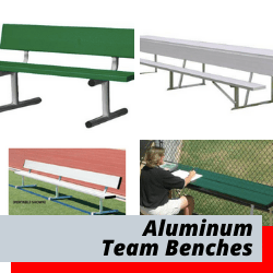 Team Benches & Aluminum Benches