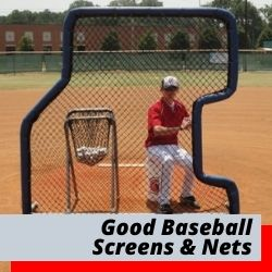 Our Good Batting Screens | Pitching Net, L Screens & Softball Net