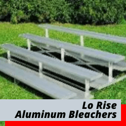 Low Rise Bleachers