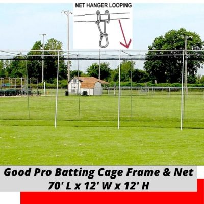 Good Pro Batting Cage 70x12x12